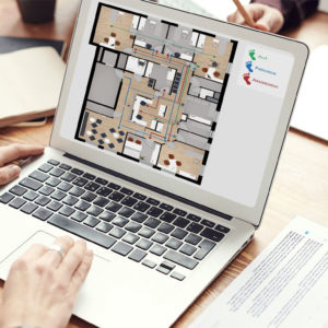 Dienstleistung | Praxis Grundrissplan