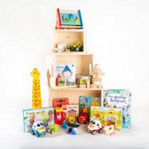 Große Spielzeugkiste fürs Wartezimmer | Wait & Play