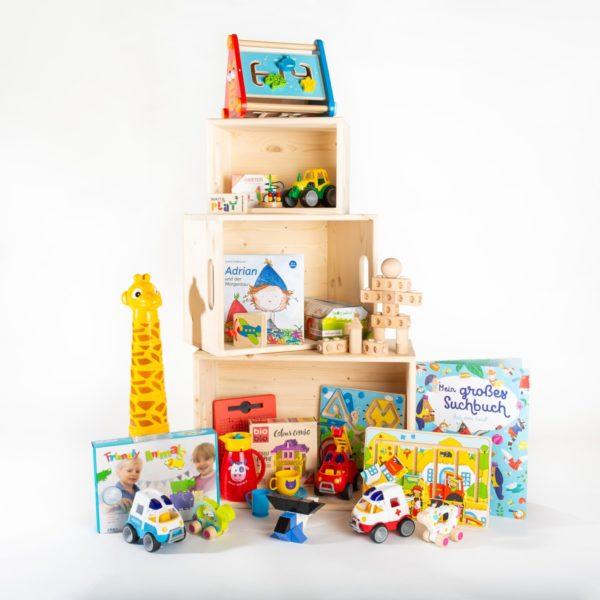 Große Spielzeugkiste fürs Wartezimmer   Wait & Play