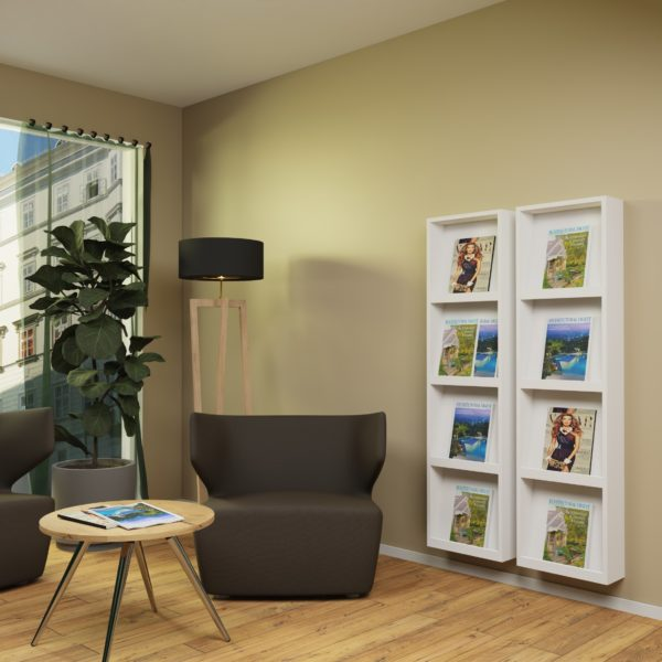Shop the Look | Gemütliche Warte-Loungemöbel. Erdige Wohlfühlatmosphäre.